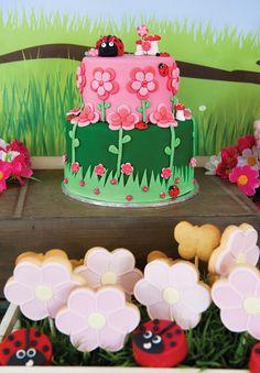 Bright & Cheery Rainbow Garden Birthday Party