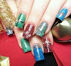 Christmas Nail Art Design Ideas 2013-2014 by brittney