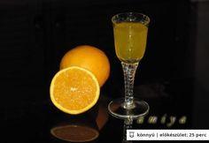 Házi narancslikőr - 2 nap alatt Nap, Diy Food, Smoothie, Vodka, Alcoholic Drinks, Food And Drink, Cooking Recipes, Orange, Fruit