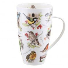 Dunoon Birdlife Henley shape Mug | Temptation Gifts