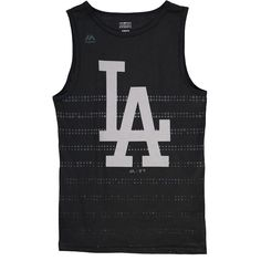 Los Angeles Dodgers Majestic Youth Reflection Tank Top - Black - $17.59