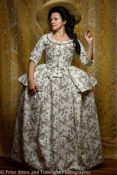 georgian caraco jacket and skirt, - made by Prior Attire