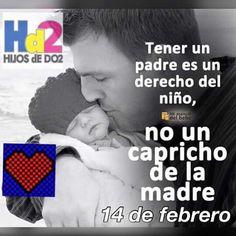 Tener un padre/madre es un derecho del niño, no un capricho de la madre/padre. Hijos de dos...