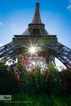Beautiful Eiffel Tower - Pinned by Mak Khalaf Travel Paris by almuralshared