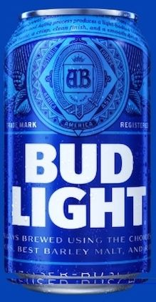 "Anheuser-Busch just revealed a ""bold new look"" for Bud Light, ""The Prince of Beers."" As one Bud Light executive put it in a press release, ""In we'll put a more modern twist on Bud Light, from the way the brand looks to the way it acts. Bud Light Beer, Bud Light Can, Ab Inbev, Bud Lite, Beer Cooler, Beer Pong Tables, Beer Company, Bude, Do It Yourself Home"