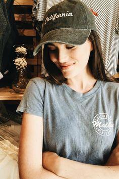 Brandy ♥ Melville | Katherine California Cap - Beanies & Hats - Accessories