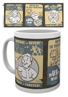 Mugs & Cups Collectibles Fallout 4 Vault Boy, Fallout Art, Fallout New Vegas, Fallout 4 Vaults, Pip Boy, Geek Decor, Man Cave Home Bar, Thing 1, Retro Futuristic