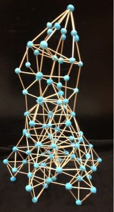 The Helpful Art Teacher: Toothpick Sculptures, How Art Inspires Art