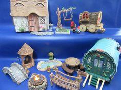 Miniature Garden Ornaments - Miniature World - Miniature Fairy Garden Brand New Wall Ornaments, Ornament Crafts, Garden Ornaments, Fairy Door Kit, Fairy Doors, Fairy Figurines, Veg Garden, Fairy Garden Houses, Fairy Garden Accessories