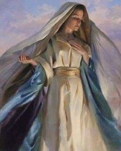 """Catholic Sistas on Instagram: """"Another beautiful Marian depiction without attribution. If you know, I'd love to update this post so we can credit the artist. Thanks,…"""" Princess Zelda, Disney Princess, Roman Catholic, Disney Characters, Fictional Characters, Thankful, Artist, Beautiful, Instagram"""