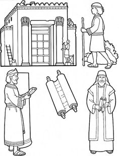 Kings Of Israel Coloring Pages