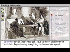 The Birth of Philsophy (The World in Greek Times Part 1) - http://www.zaneeducation.com - Learn about the connections between historical events and the literary figures and works of the Greek era. Philosophical movements and ideas are illustrated through the exploration of the lives and works of Socrates, Plato, Lao-Tzu, Confucius, Siddhartha Gautama, Aesop & Pythagoras. Learn about important events that happened in world history during the time of the ancient Greeks, between 800 & 200 B.C…