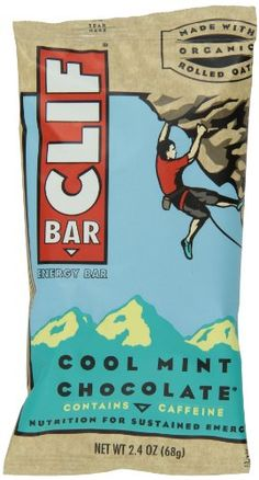 CLIF ENERGY BAR  Cool Mint Chocolate  24 oz 24 Count -- To view further, visit