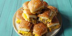 Pull apart cheeseburger sliders