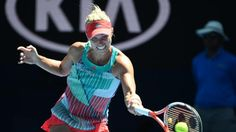 Kerber wins on another distracting day at Australian Open...: Kerber wins on another distracting day at Australian… #Kerber #SerenaWilliams