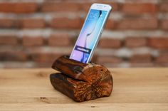Popular items for wood phone stand on Etsy