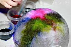 Ice Art {Wash and Learn} ~ Learn Play Imagine