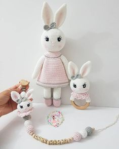 44 Awesome Crochet Amigurumi For You Kids for 2019 – Page 39 of 44 – Free Amigurumi Pattern,… Crochet Bunny Pattern, Crochet Rabbit, Crochet Animal Patterns, Stuffed Animal Patterns, Crochet Patterns Amigurumi, Amigurumi Doll, Crochet Baby Toys, Crochet Dolls, Crochet Crafts