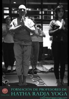 Formación de Profesores de Hatha Radja Yoga - Bogota 2016