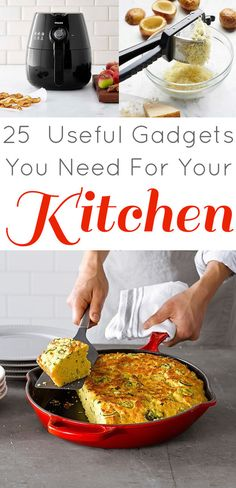 25 Insanely Useful Gadgets for the Kitchen - love the garlic smasher