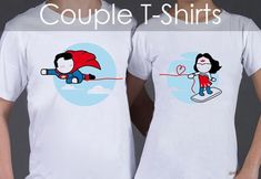 Boldloft Matching Couple Shirts