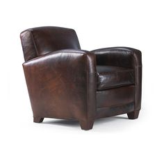 Ellis Leather Chair - Mitchell Gold + Bob Williams