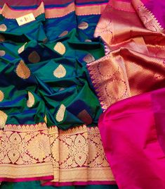 Silk Saree Banarasi, Blue Silk Saree, Maroon Saree, Kanchipuram Saree, Latest Silk Sarees, Long Dress Design, Traditional Silk Saree, Mehndi Design Photos, Fashion Updates