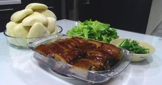 I wasn't a fan of fatty food till I tasted this dish about 3 years ago when our family had dinner with a friend in a restaurant and my husband ordered Dong Po Rou (Braised Pork Belly /东坡肉) (to go w...