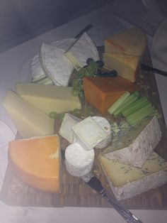 Cheeseboard selection from the kitchens at Maunsel House & Woodlands Castle