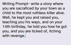 drawing prompts Great writing prompt We can do your homework for you. Writing Inspiration Prompts, Daily Writing Prompts, Book Prompts, Creative Writing Prompts, Writing Challenge, Book Writing Tips, Writing Words, Writing Help, Writing Skills