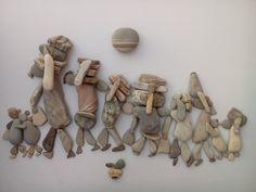 Les pierres de l'artiste syrien Nizar Ali Badr
