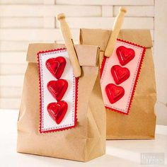 These quick and easy Valentine's Day projects are fun for adults and kids to work on together, too.