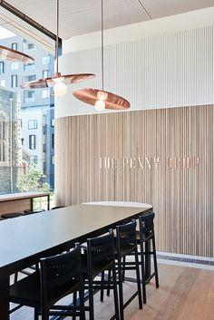 The Penny Drop (Melbourne, Australia), Lighting, Surface Interiors, Australia & Pacific Restaurant, Café | Restaurant & Bar Design Awards