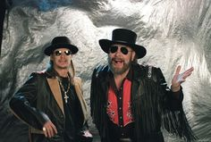 HANK WILLIAMS JR AND KID ROCK