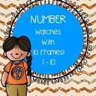 This is such a fun set with numbers 1-10 You can have students color cut and wear this as a morning work task, whole group activity or math station...