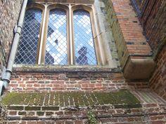 Hampton Court window - kitchens area