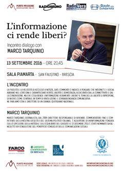 L'informazione ci rende liberi? http://www.panesalamina.com/2016/51062-linformazione-ci-rende-liberi-a-brescia.html