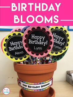 Cute and easy birthday gift for students. Just add pencils or crazy straws! Grab the FREE and EDITABLE template Teacher Freebies, Teacher Resources, Teaching Ideas, Teaching Strategies, Teacher Gift Baskets, Teacher Gifts, Birthday Treats, Birthday Gifts, Second Grade Freebies