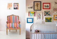 Gorgeous nursery designed by Black & Spiro.