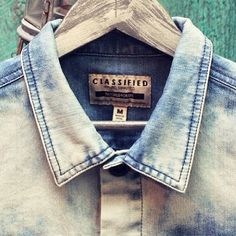 NEW quality denim shirts from #Classified dropped in! Www.Karmaloop.com   Use repcode: ABUSE for 20% discount! #karmaloop