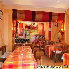 Restaurant L'ETOILE DU DESERT, Av. Georges Henri,  à 1200 Bruxelles, cuisine du Magreb, très fine...