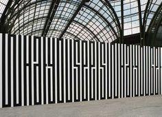 Centre Pompidou-Metz opens exhibition dedicated to French artist Tania Mouraud Pompidou Metz, Pompidou Paris, Centre Pompidou, Environmental Graphics, Environmental Design, Art Mots, Street Art, Cool Typography, Typographic Design