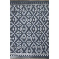 Shop for Southwestern/Tribal Pattern Blue/ Ivory Wool Area Rug (8'x10'). Get free shipping at Overstock.com - Your Online Home Decor Outlet Store! Get 5% in rewards with Club O!