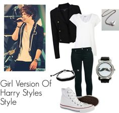 """""""Girl Version Of Harry Styles Style"""" by anabea-2000 ❤ liked on Polyvore"""