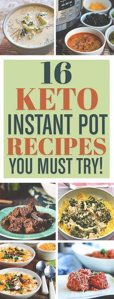 I have to try these Keto Instant Pot recipes!!