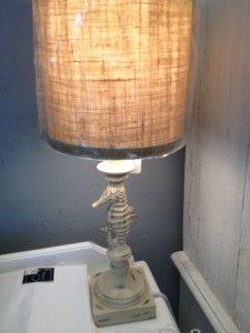 Cream Starfish Lamp $59.95