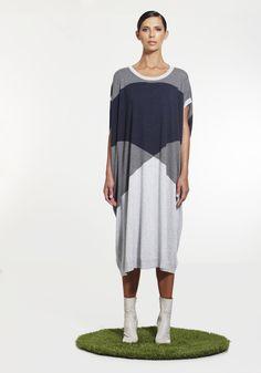 Spirited Dress NINETEEN//46 SS15 100% cotton NZ$275 #knitwear #summerknitwear #summer2015
