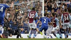 Ivanovic nets Chelsea winner as referee decisions cost Villa  Premier League, Stamford Bridge - Chelsea 2 (Luna og 6, Ivanovic 73) Aston Villa 1 (Benteke 45+2')
