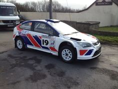 Ford Focus WRC with new livery for the #MWR13