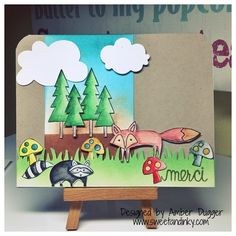 stampin up life in the forest images   Life in the Forest Card